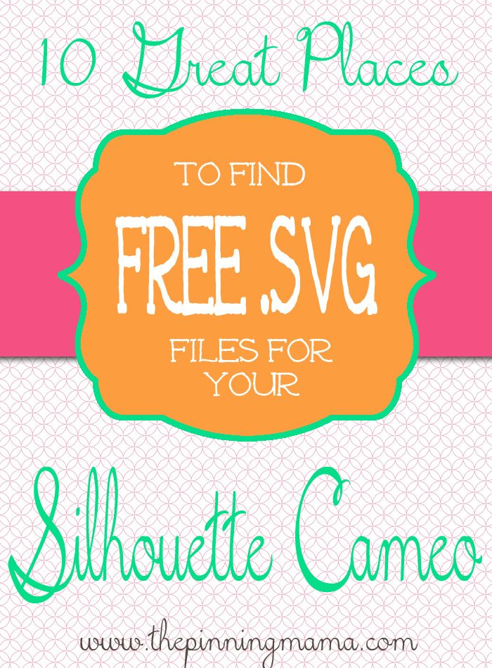 10 Great Places to Find Free SVG Files + Sale and Promo