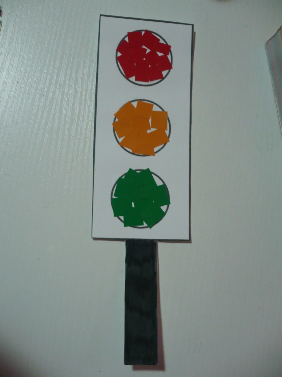 Maro S Kindergarten Traffic Light Collage