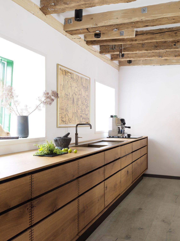 Rustic kitchen via Bo Bedre Furniture Pinterest