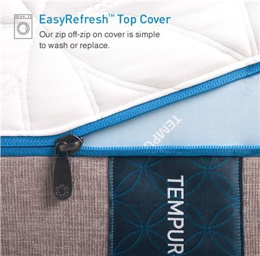 Tempur Pedic Easyrefresh Top Cover Replacement Style Waterproof Allergen Resistant Mattress Protectors From