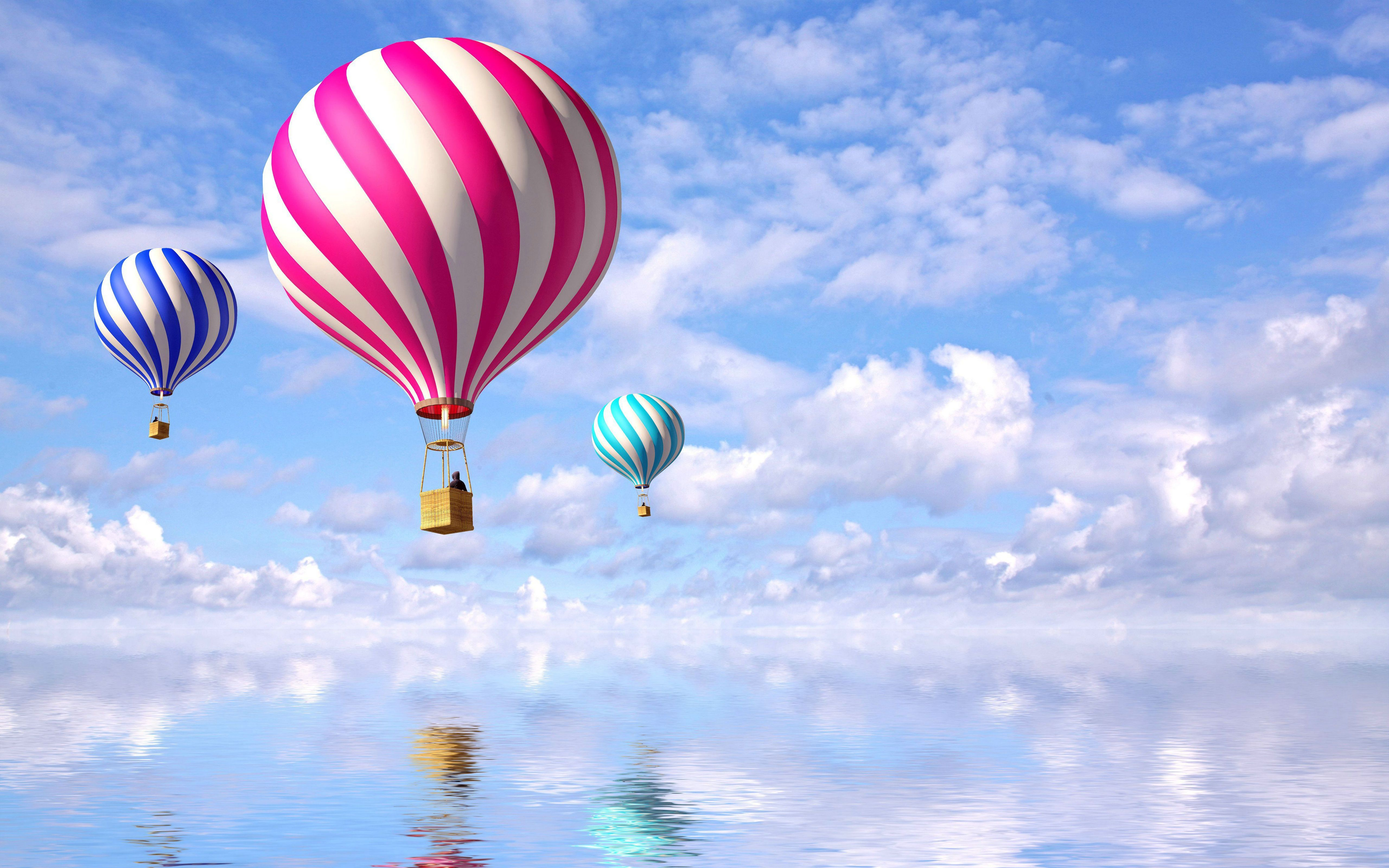 Hot Air Balloons Jesus He can do more than just walk