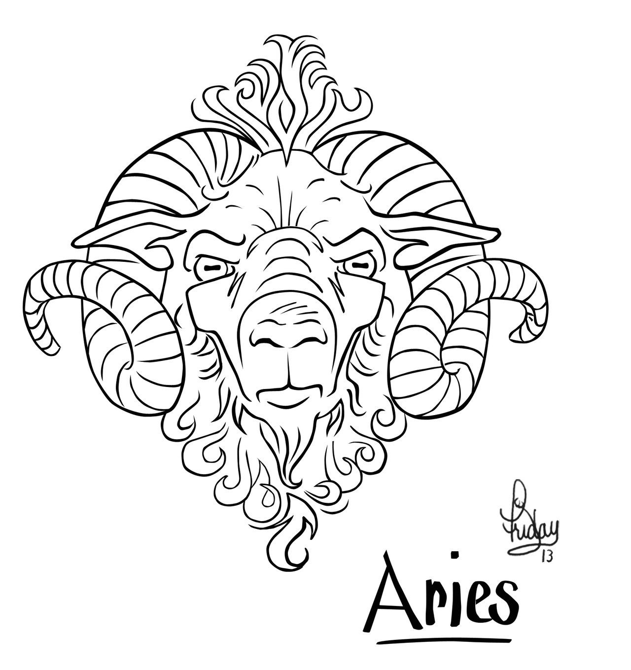 aries tattoo ram fire Google Search my reference