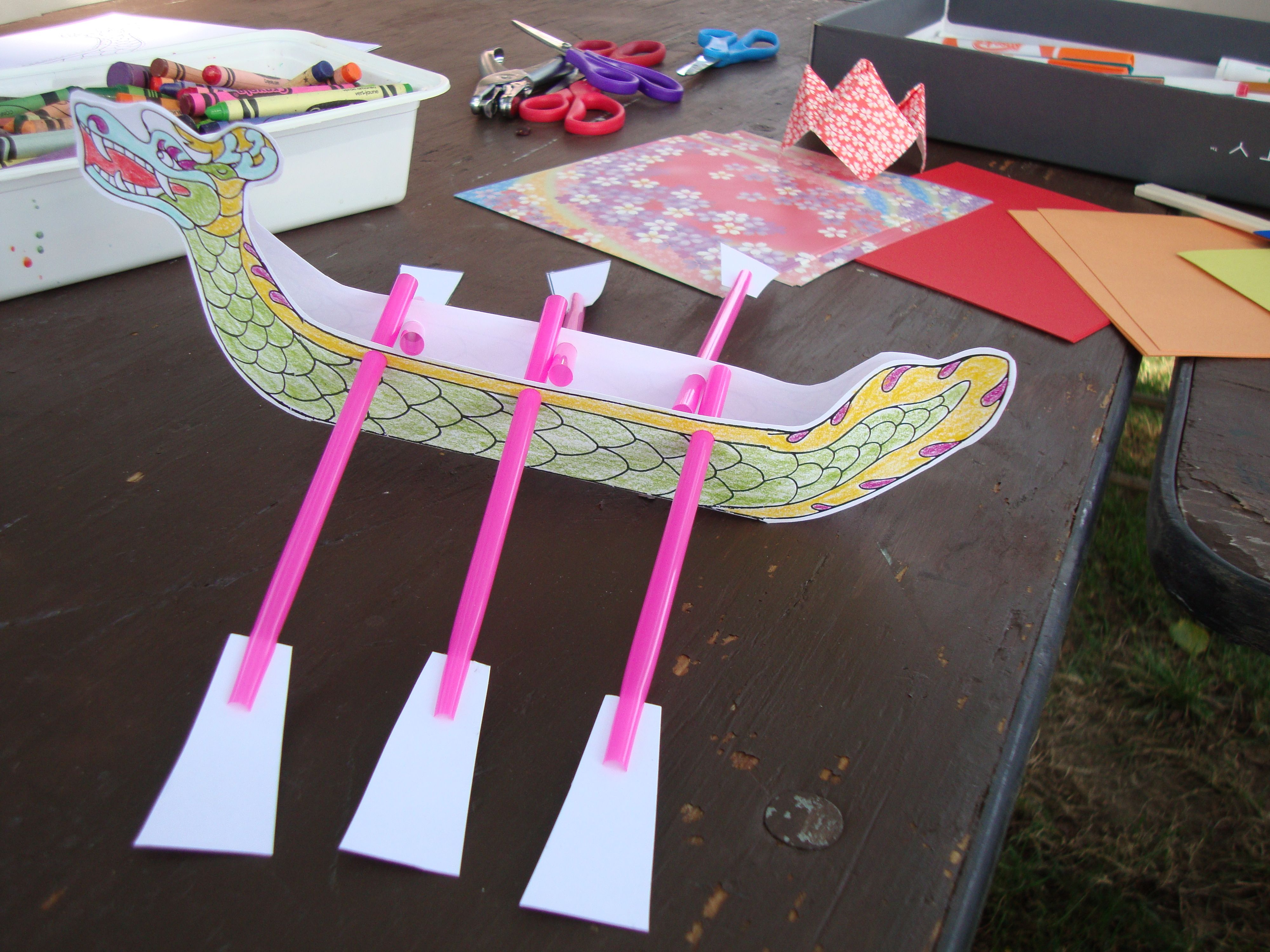 Dragon Boat Festival Duanwu Festival Craft From Template