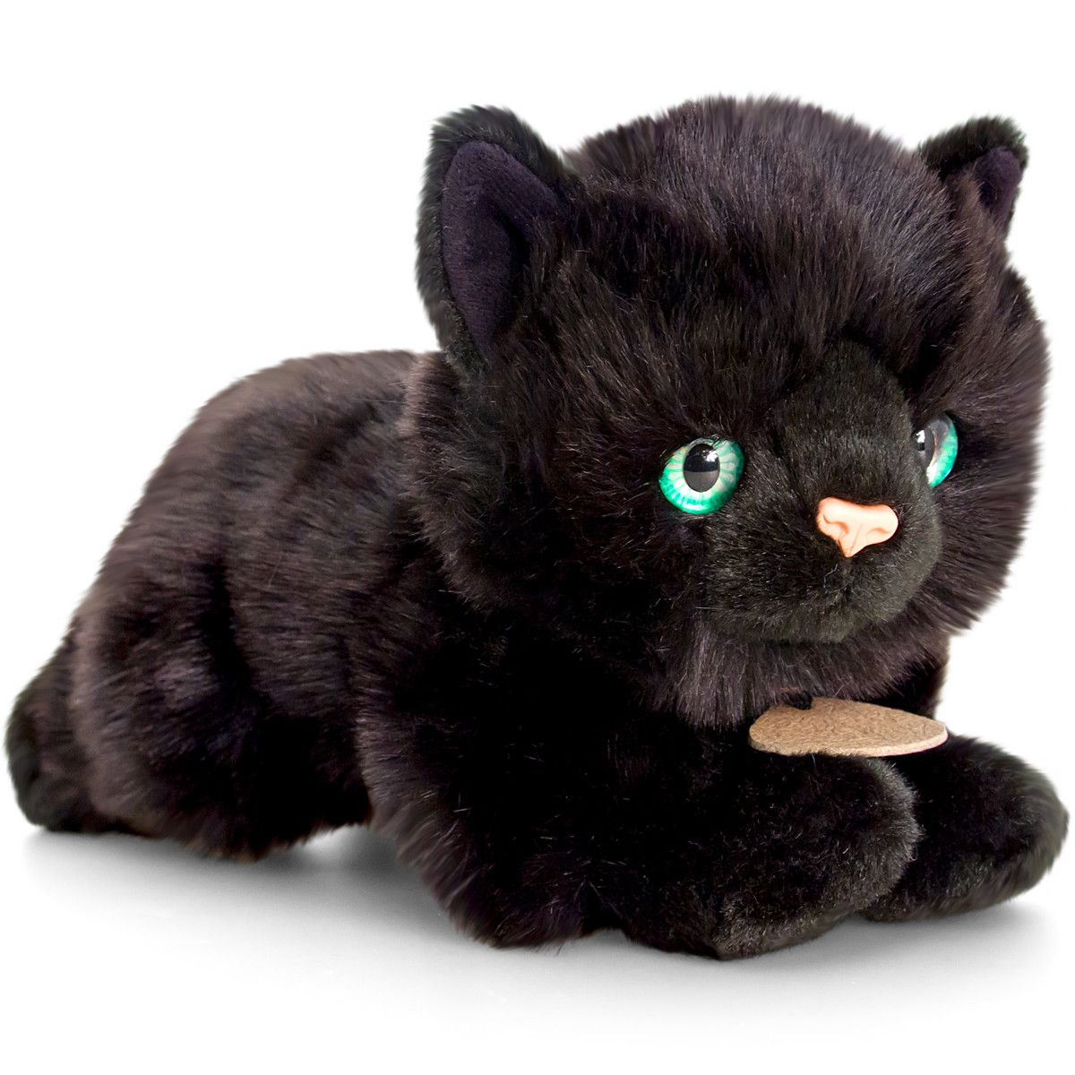 Smudge Plush Black Cat Stuffed Animal Keel Toys Black