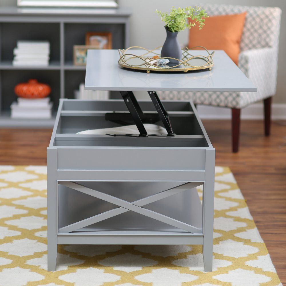 Belham Living Hampton Storage And Lift Top Coffee Table Coffee Tables At Hayneedle Home