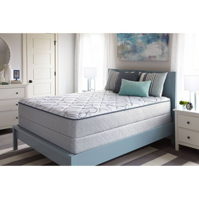 Sealy Faux Euro Top Cathcart Mattress Plush Multiple Sizes For