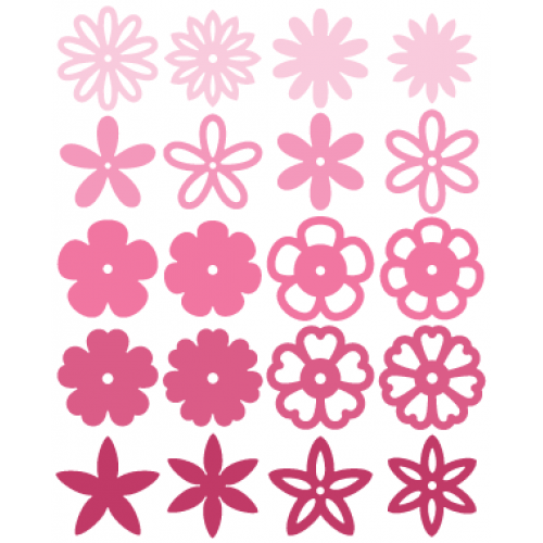 FREE SVG + cut files Flowers Scan and cut Pinterest