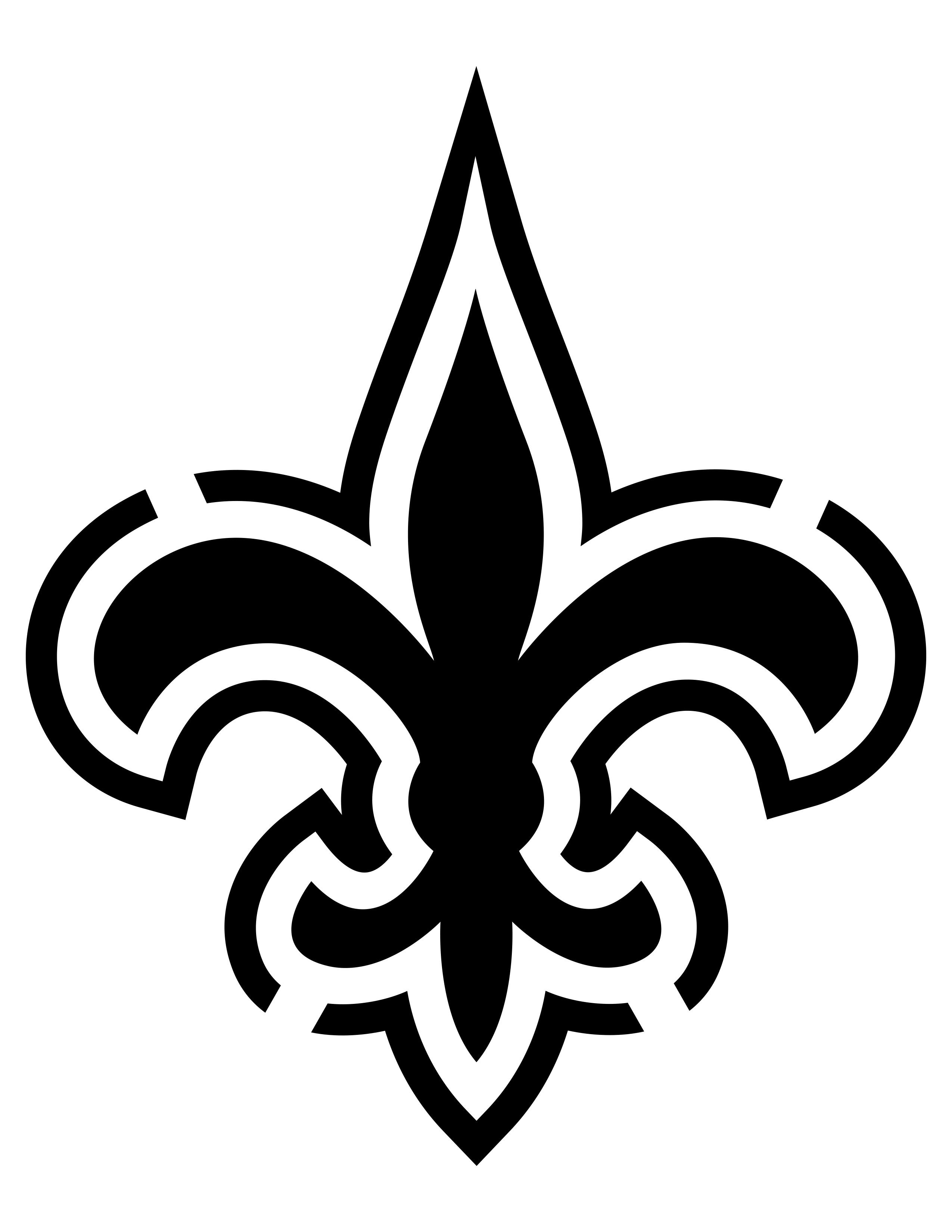 Image Result For New Orleans Saints Stencil