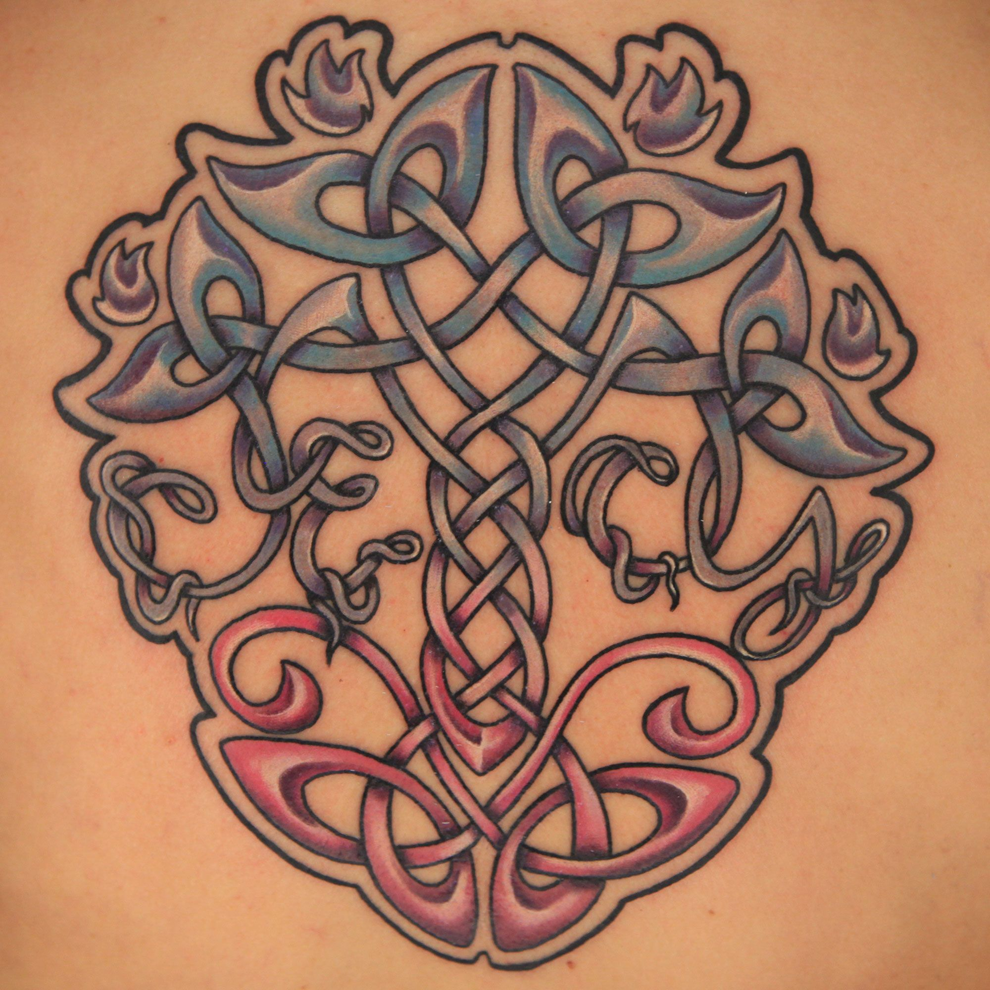 Check out this high res photo of Kyle Dunbar's tattoo from