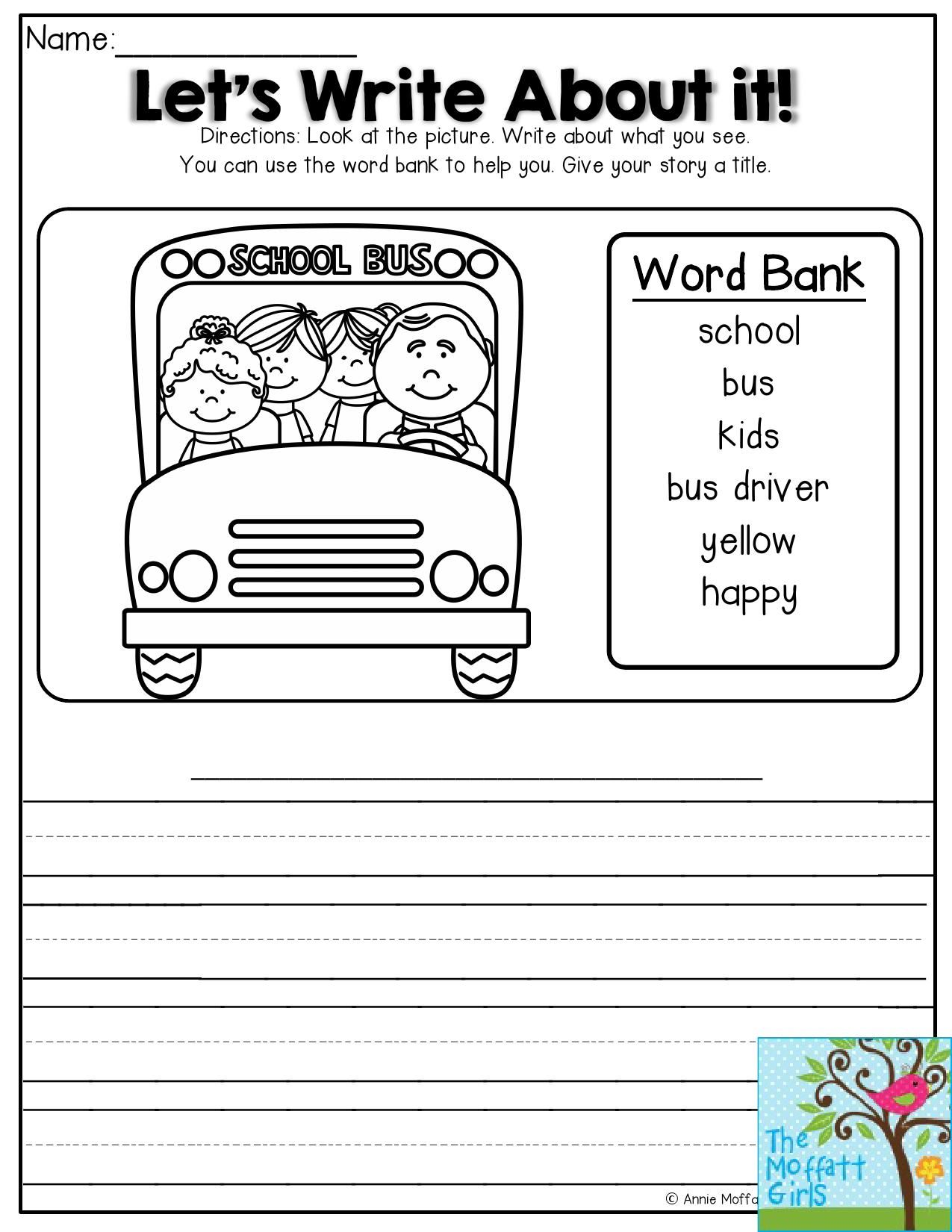 Back To School Abc Order Worksheet