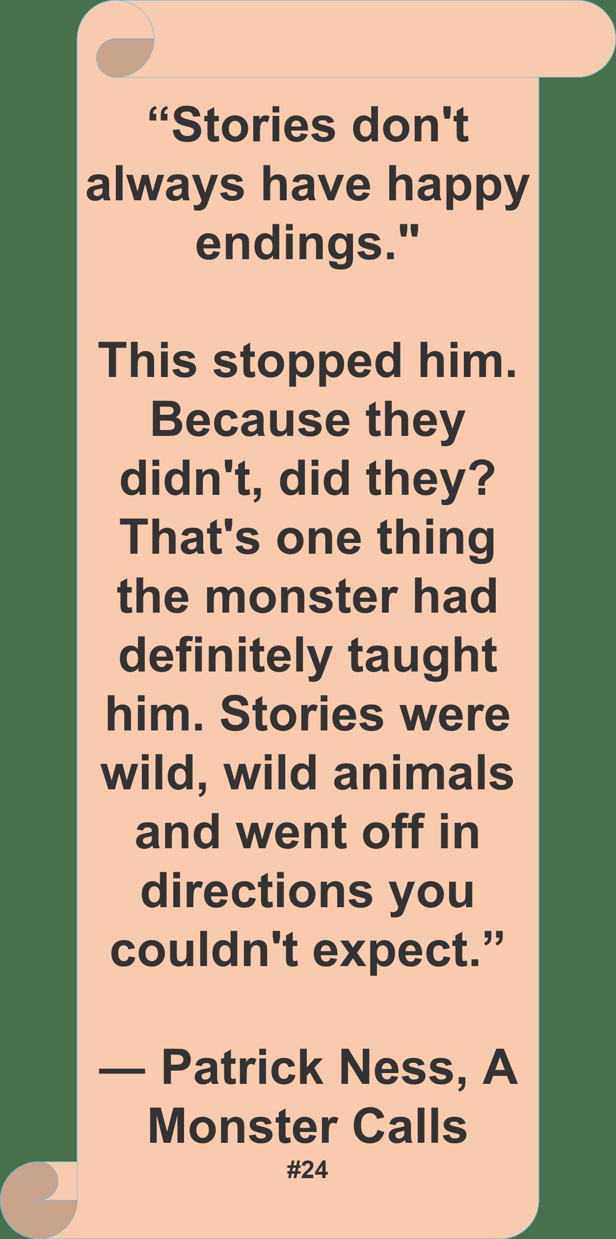 Patrick Ness Quote Author Stories