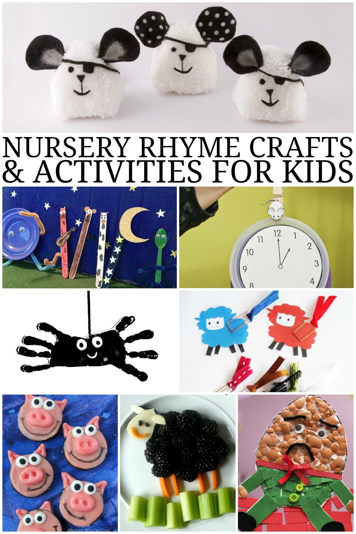Nursery Rhyme Crafts And Activities For Kids