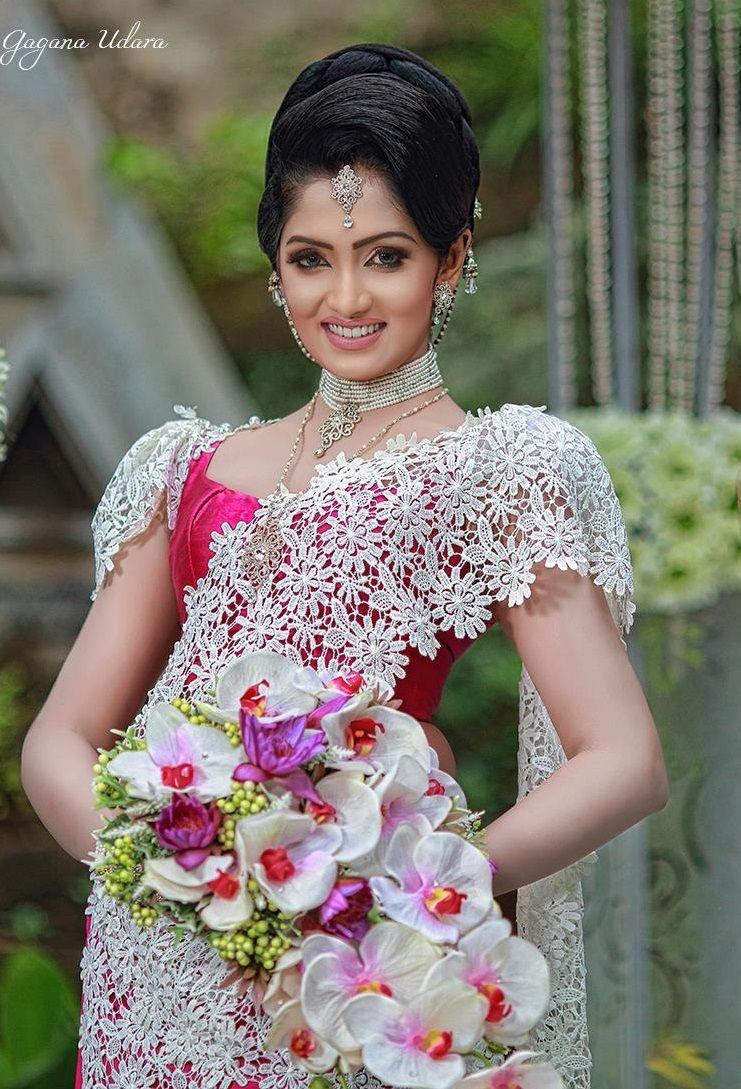 Sri Lankan bride by Gagana Udara Saree B♥S Pinterest