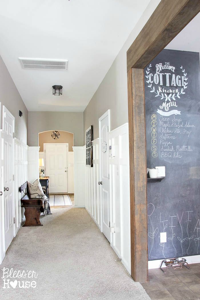 Diy Board And Batten Reveal Glidden Review Giveaway