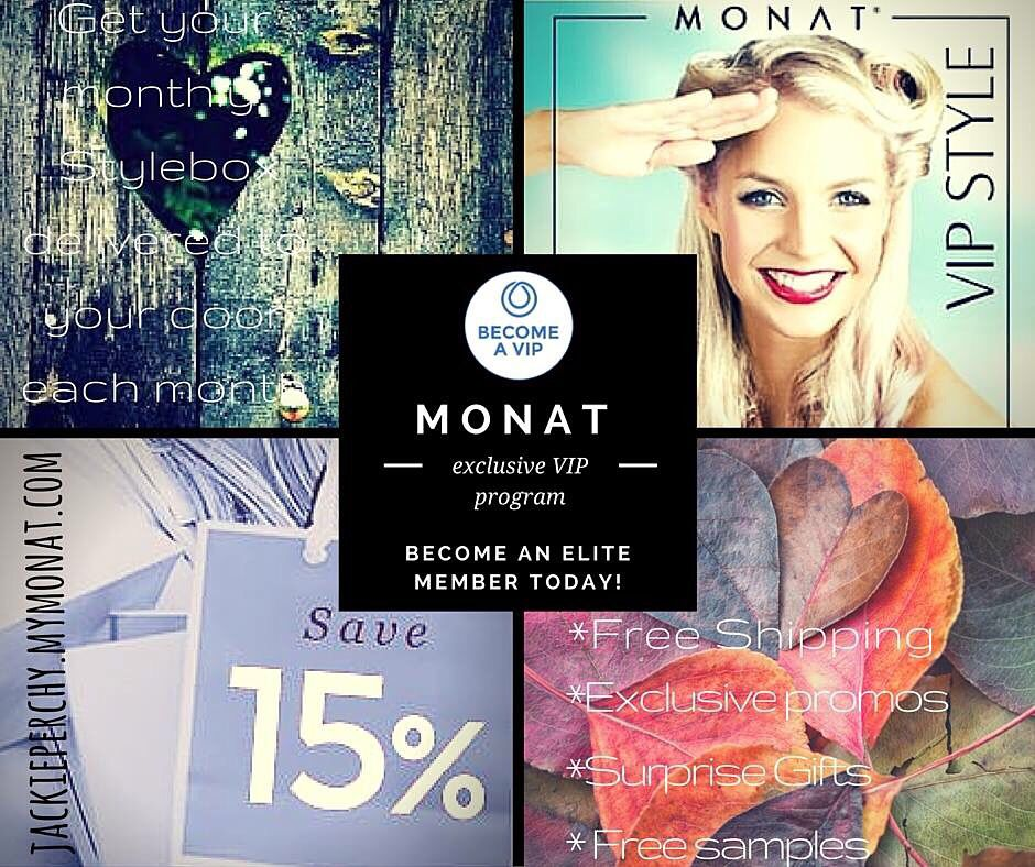 AVAILABLE IN CANADA & US! an elite MONAT VIP