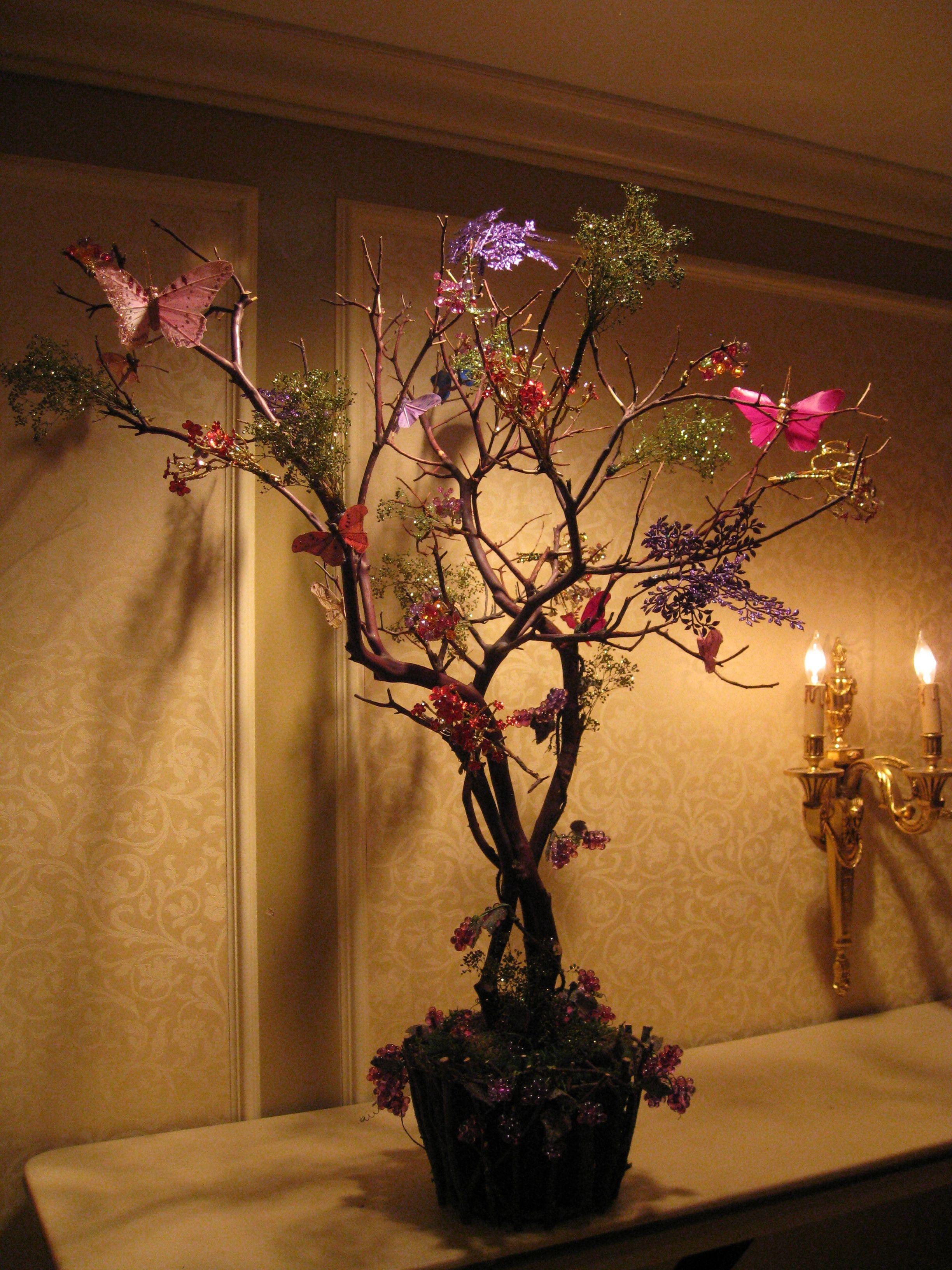 Dry centerpiece. Theme magical forest Original Alaric
