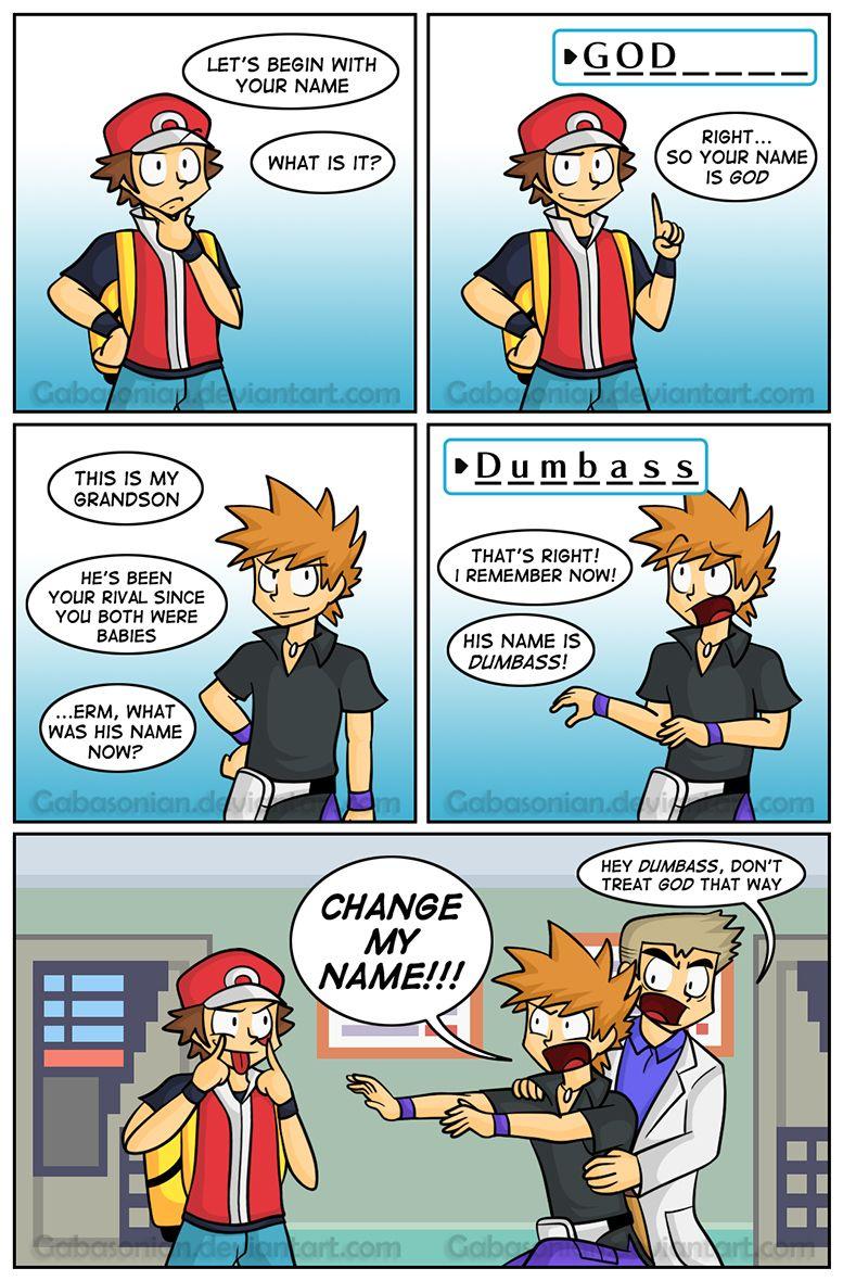 The Name Game by Gabasonian on deviantART Comics