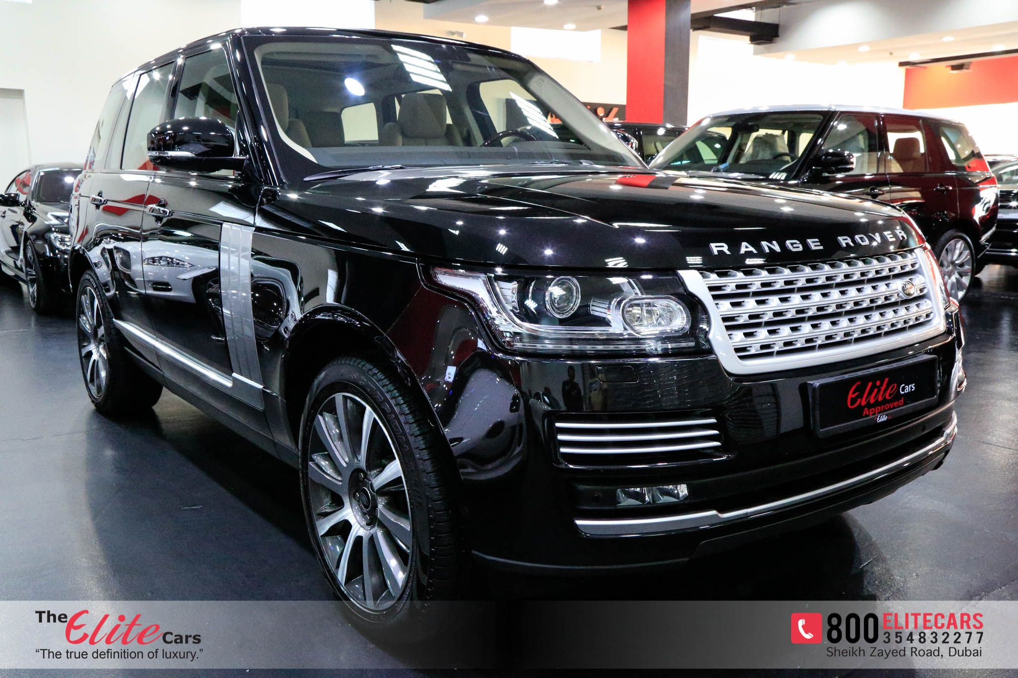 RANGE ROVER VOGUE HSE FIVE YEARS WARRANTY FROM AL TAYER