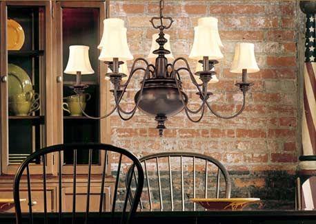 Colonial Williamsburg Chandelier