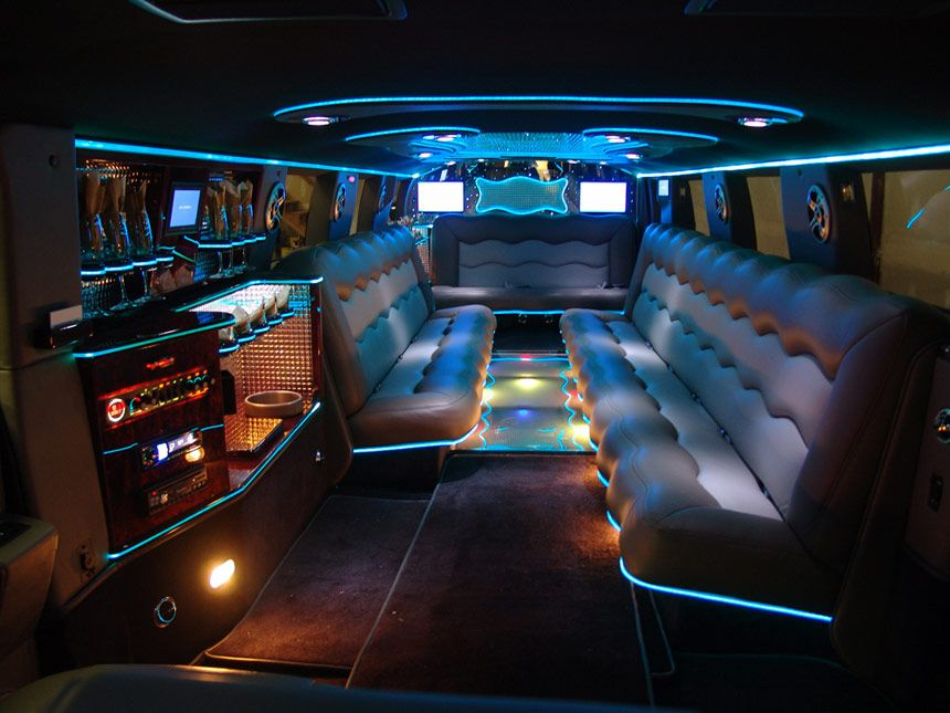 Inside limousine hummer limo i come across such a stylish