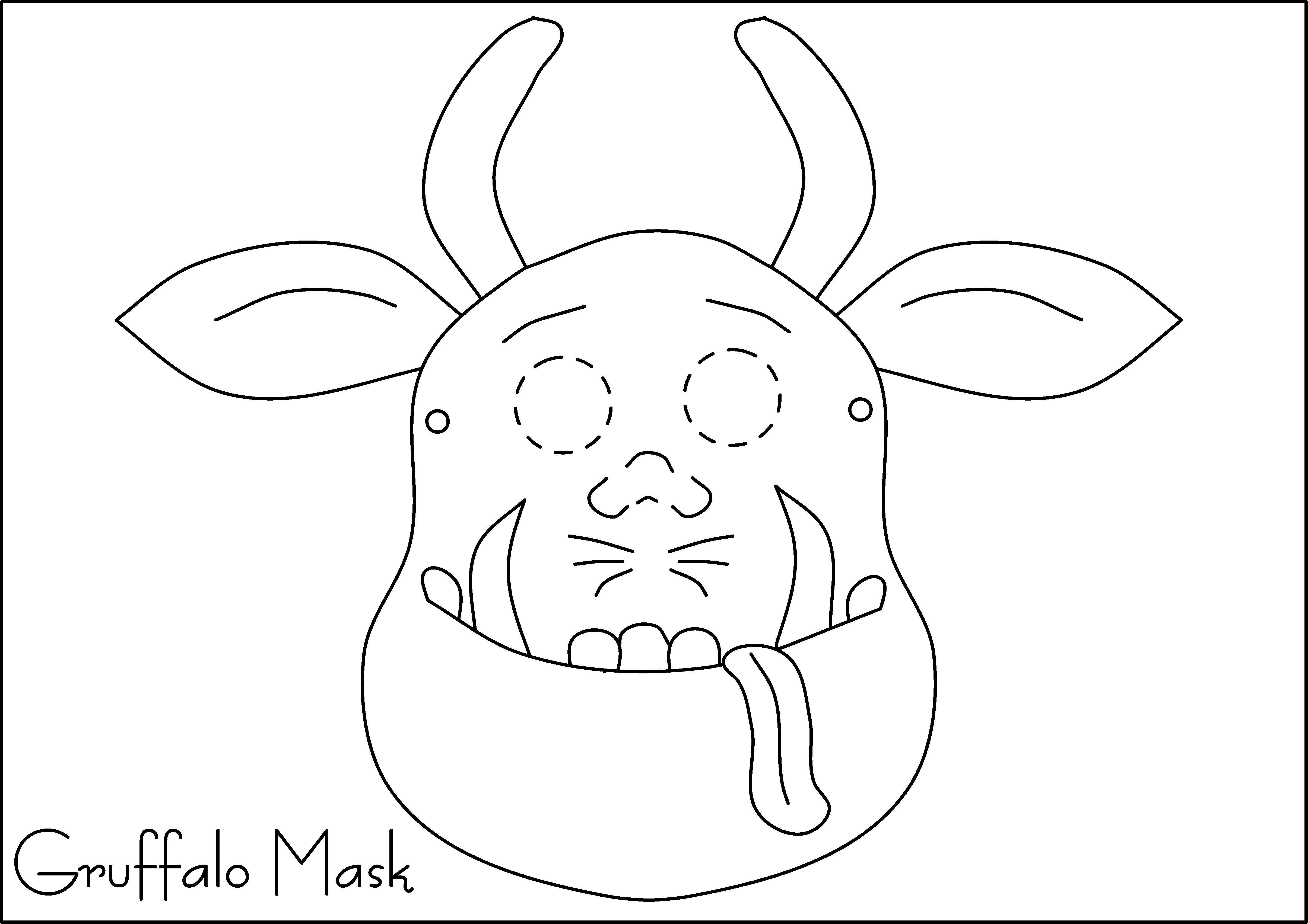 Gruffalo Mask