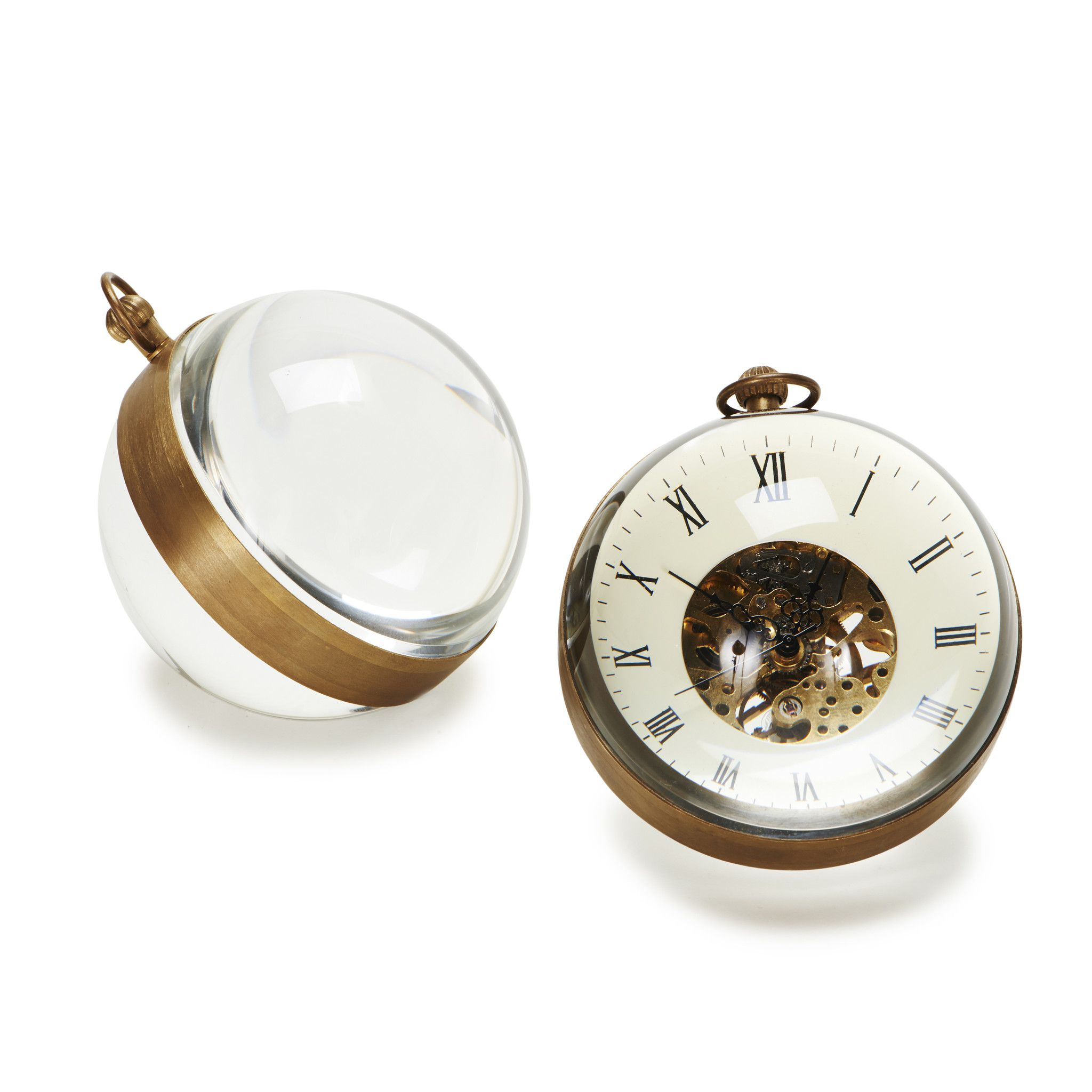Omega Mini Crystal Orb Clock