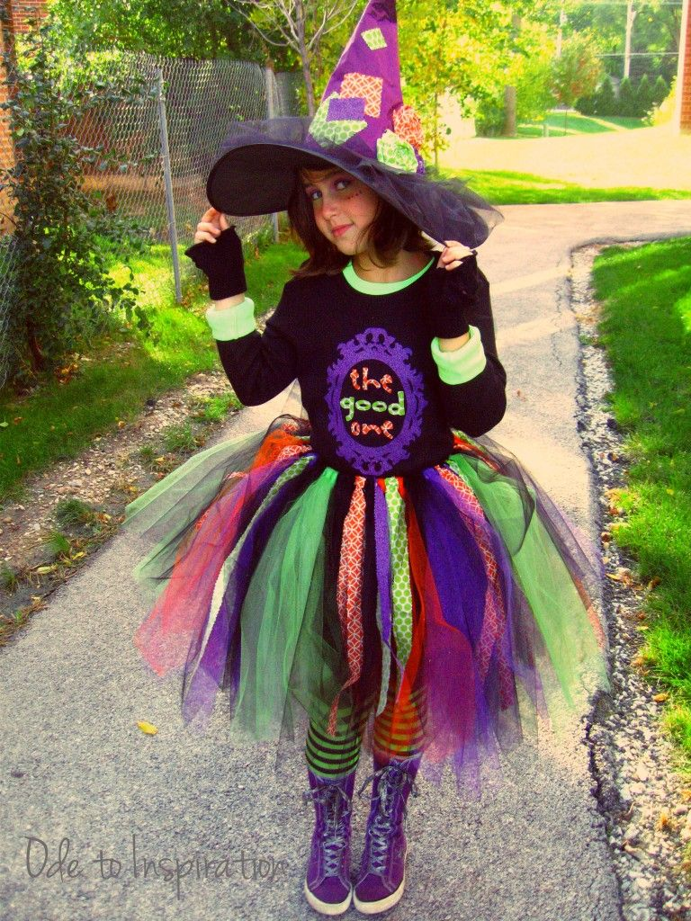 DIY Funky Witch Costume Halloween Pinterest Witch