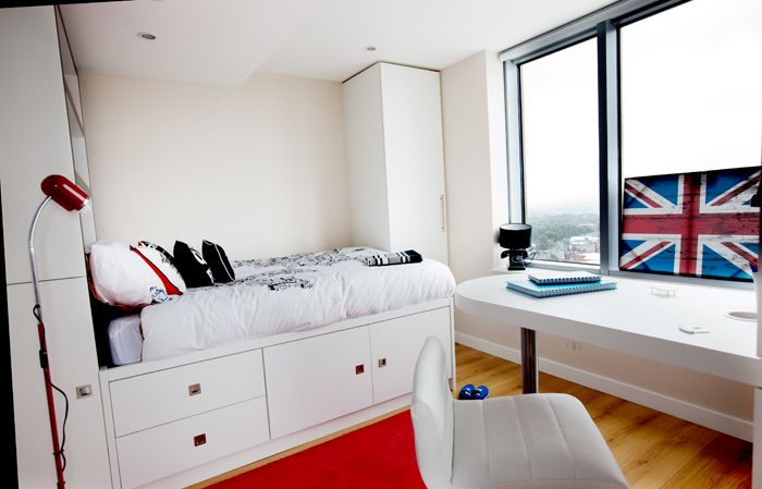 Student Accommodation Manchester Rooms Barnard Student