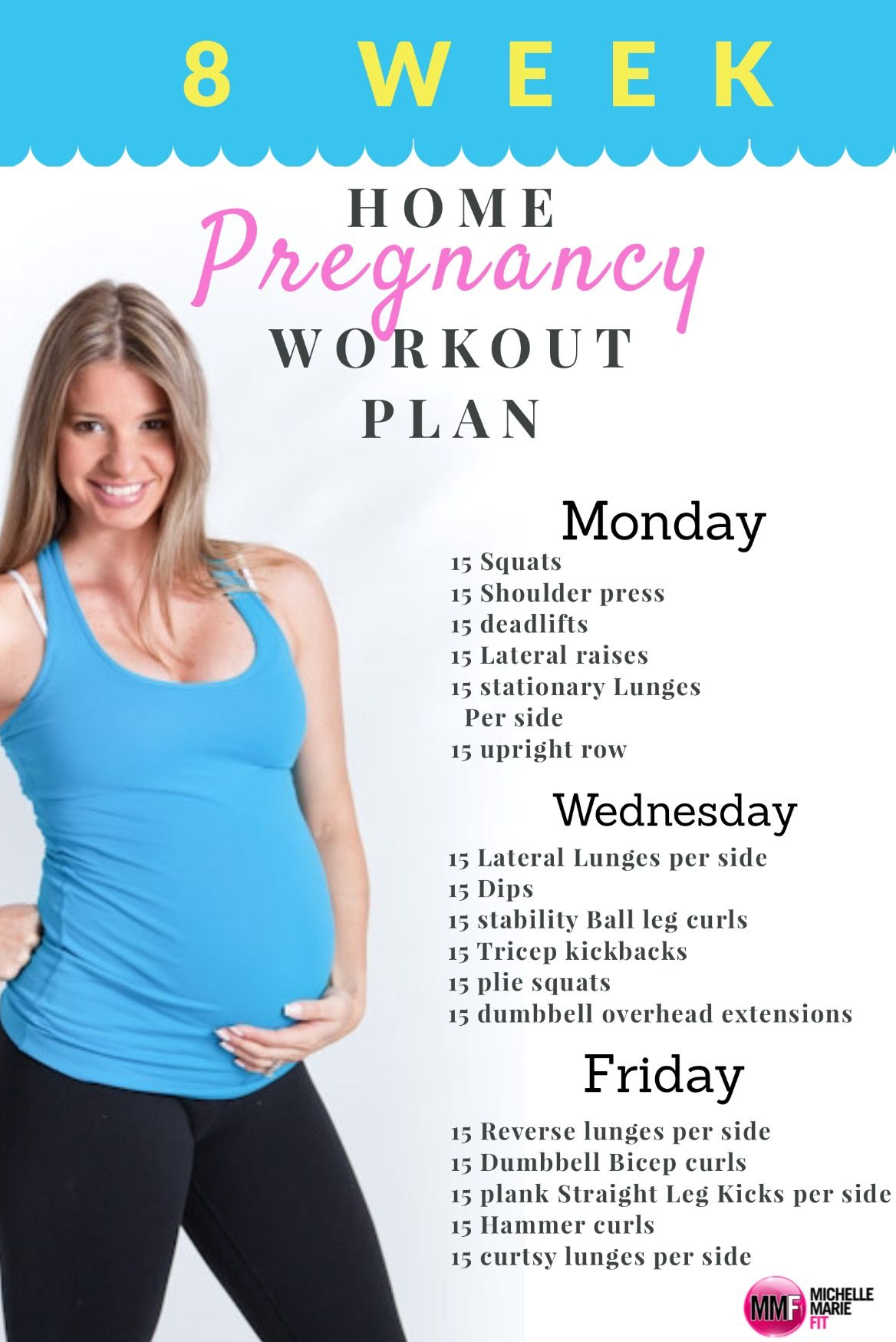 Monthly Home Pregnancy Workout