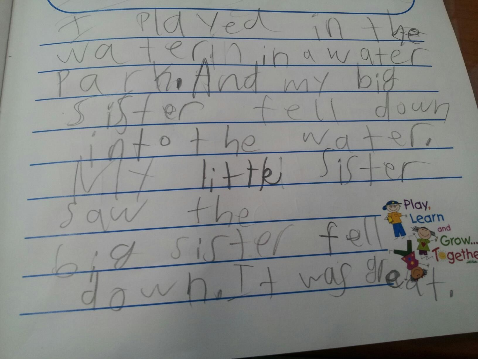 Funny Kid S Worksheet Answers From 6 Year Old Kindergarten