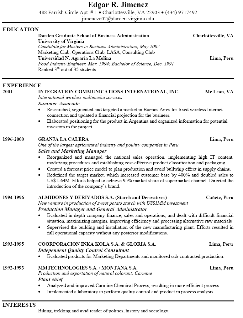 good resume title resume writing ross wade a meredith larkin s