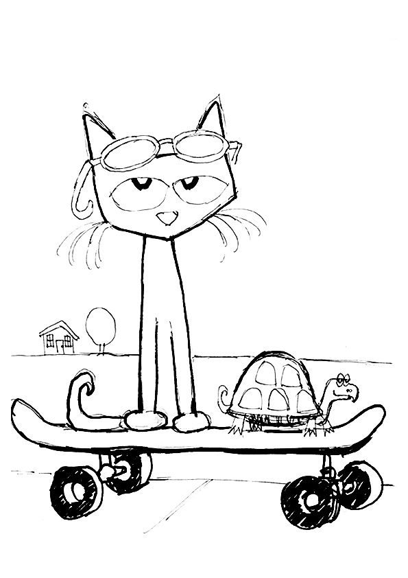 20 Best Pete The Cat Coloring Pages For Your Little Ones