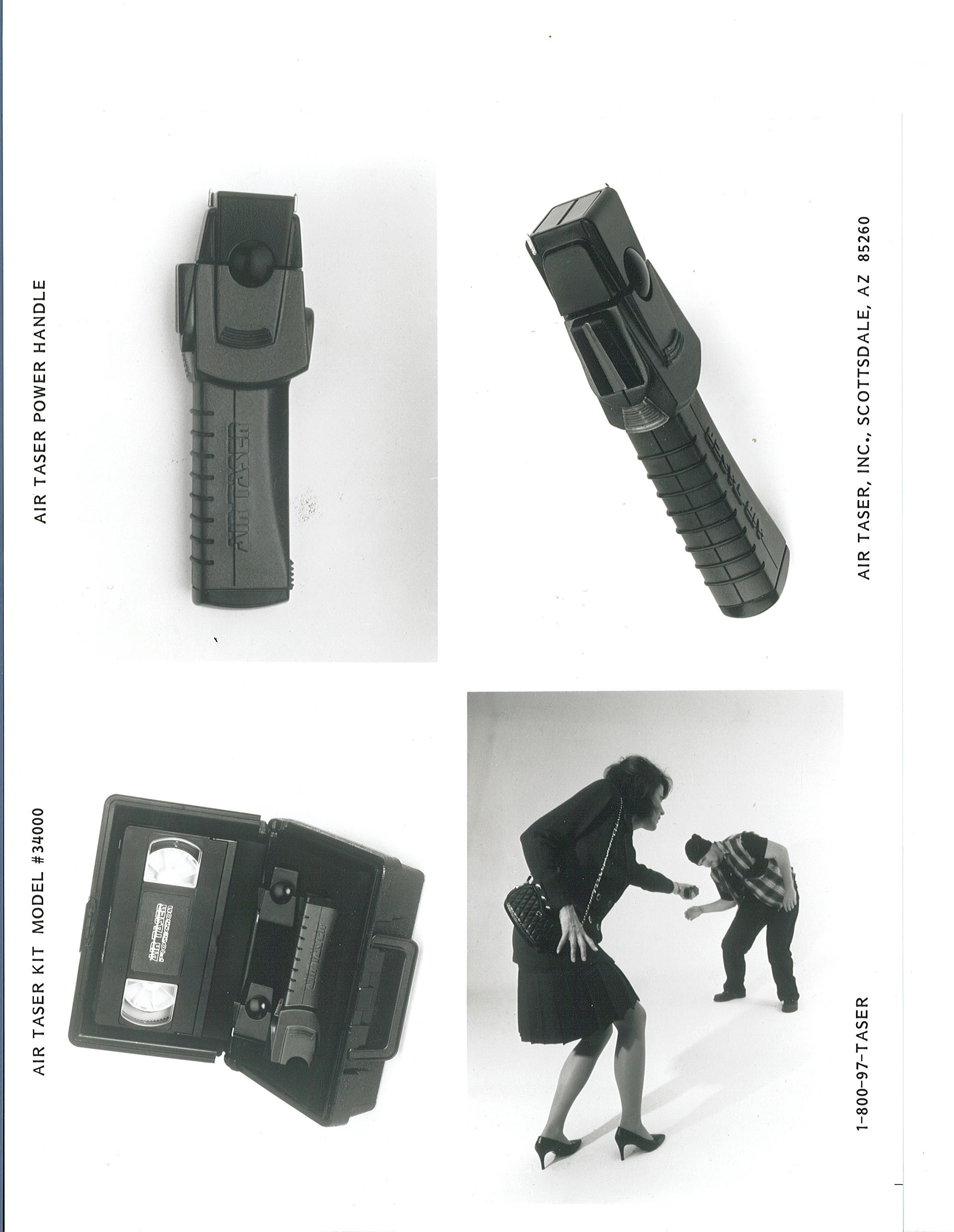 AIR TASER Model 34000 Conducted Electrical Weapon (CEW