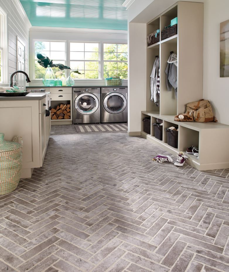 Material we're loving Bricklook tile. It's so much more