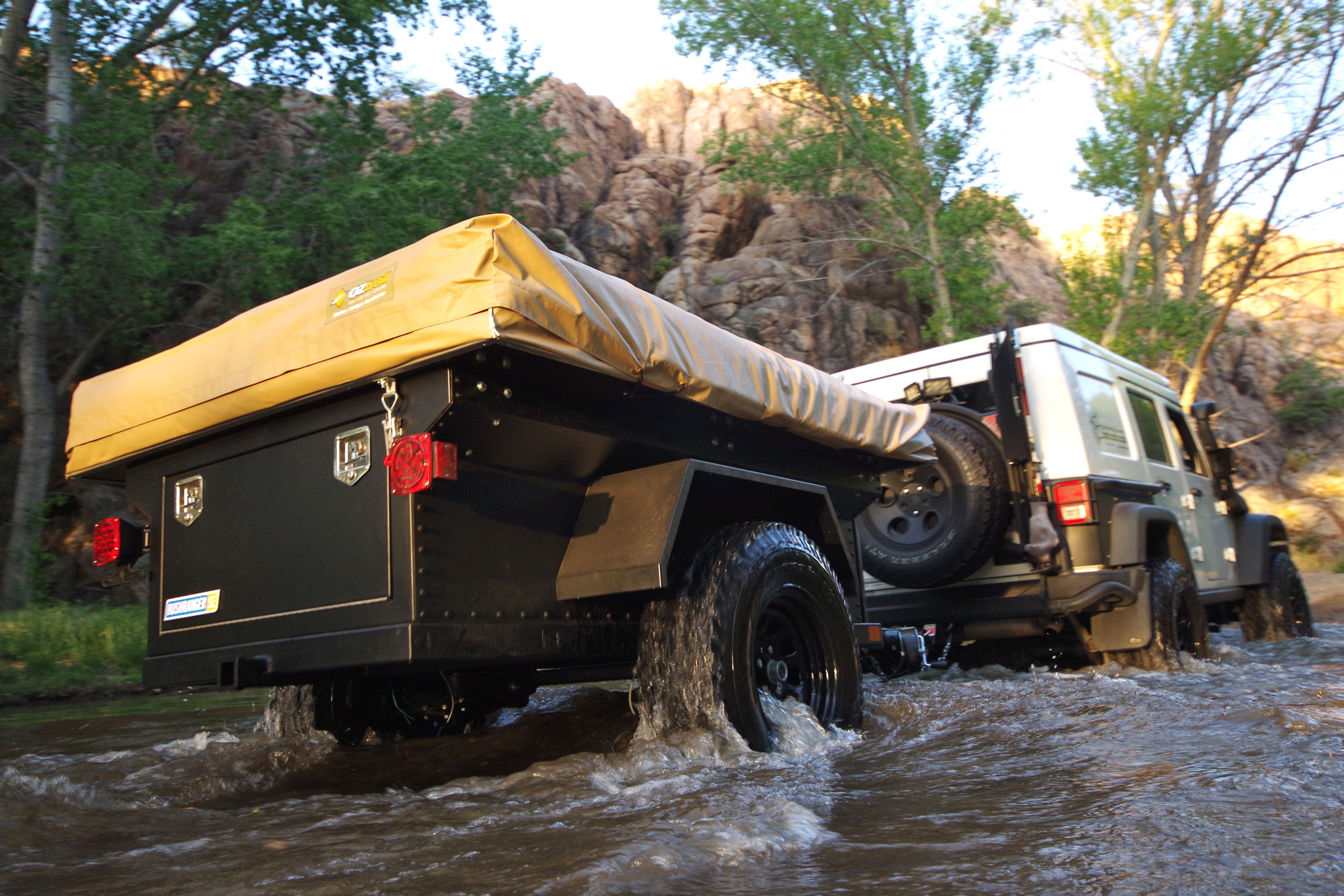 The Bushranger overland trailer built by Kakadu Camping