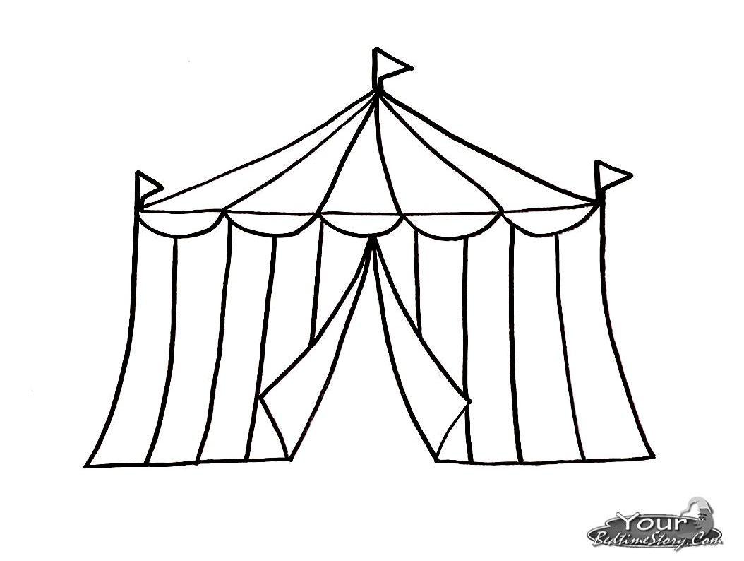 Dessin Cirque Chapiteau