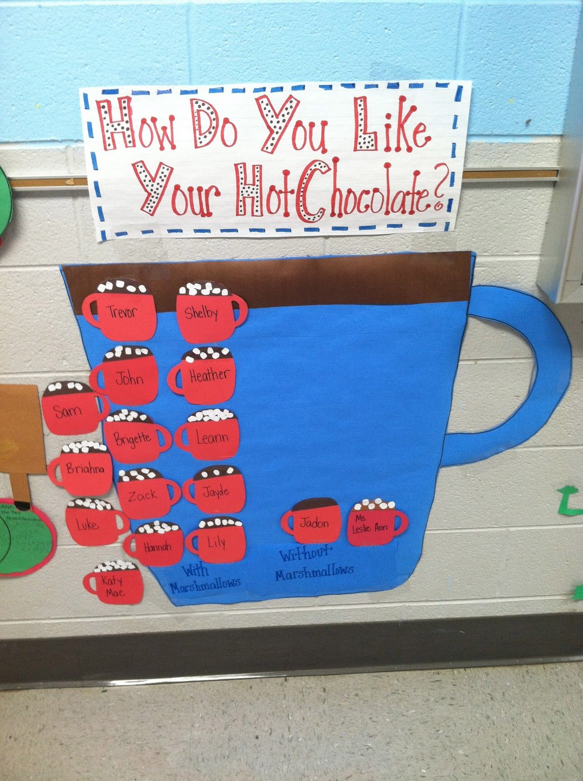 Life In First Grade Winter I Love This Chart So Cute