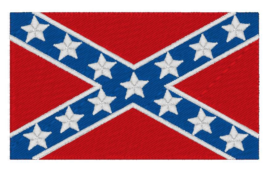 This is a free Confederate flag 4x4 embroidery and can be