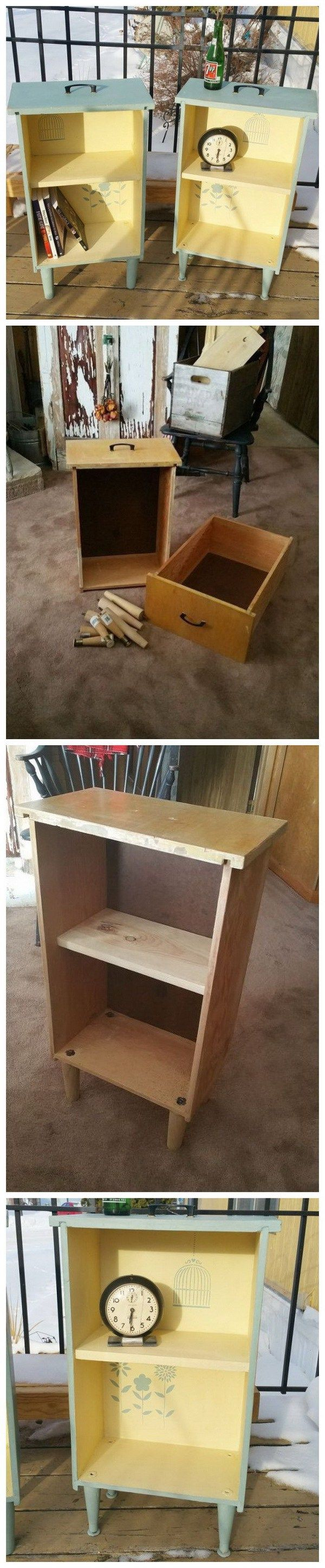 20 DIY Ideas to Reuse Old Furniture Reuse, DIY ideas and