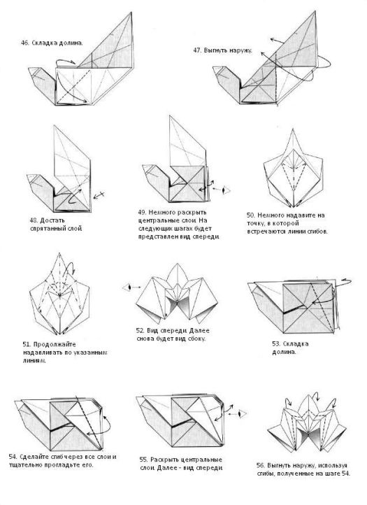 origami fox advanced