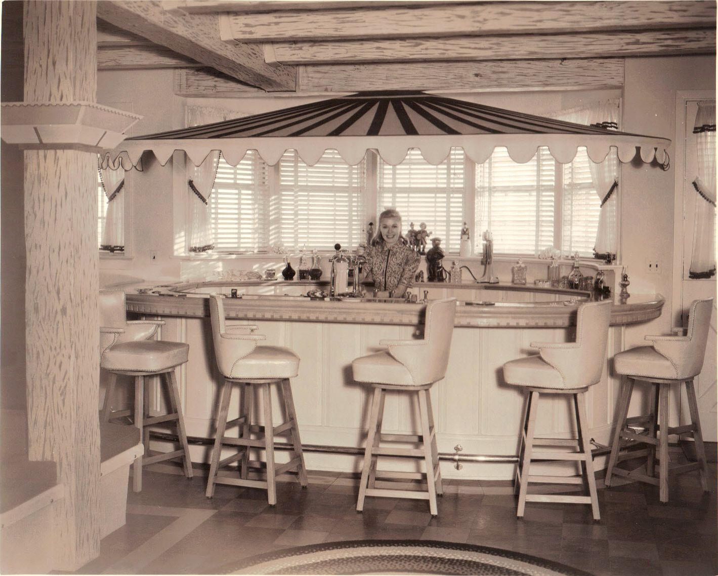 Ginger Rogers' home in Beverly Hills 1605 Gilcrest Drive