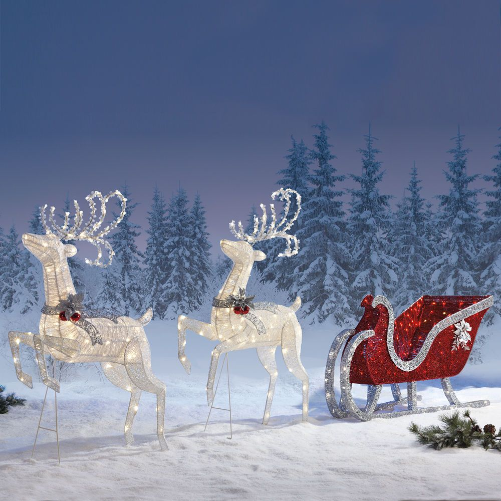 Christmas Sleigh Outdoor/indoor Christmas Decoration