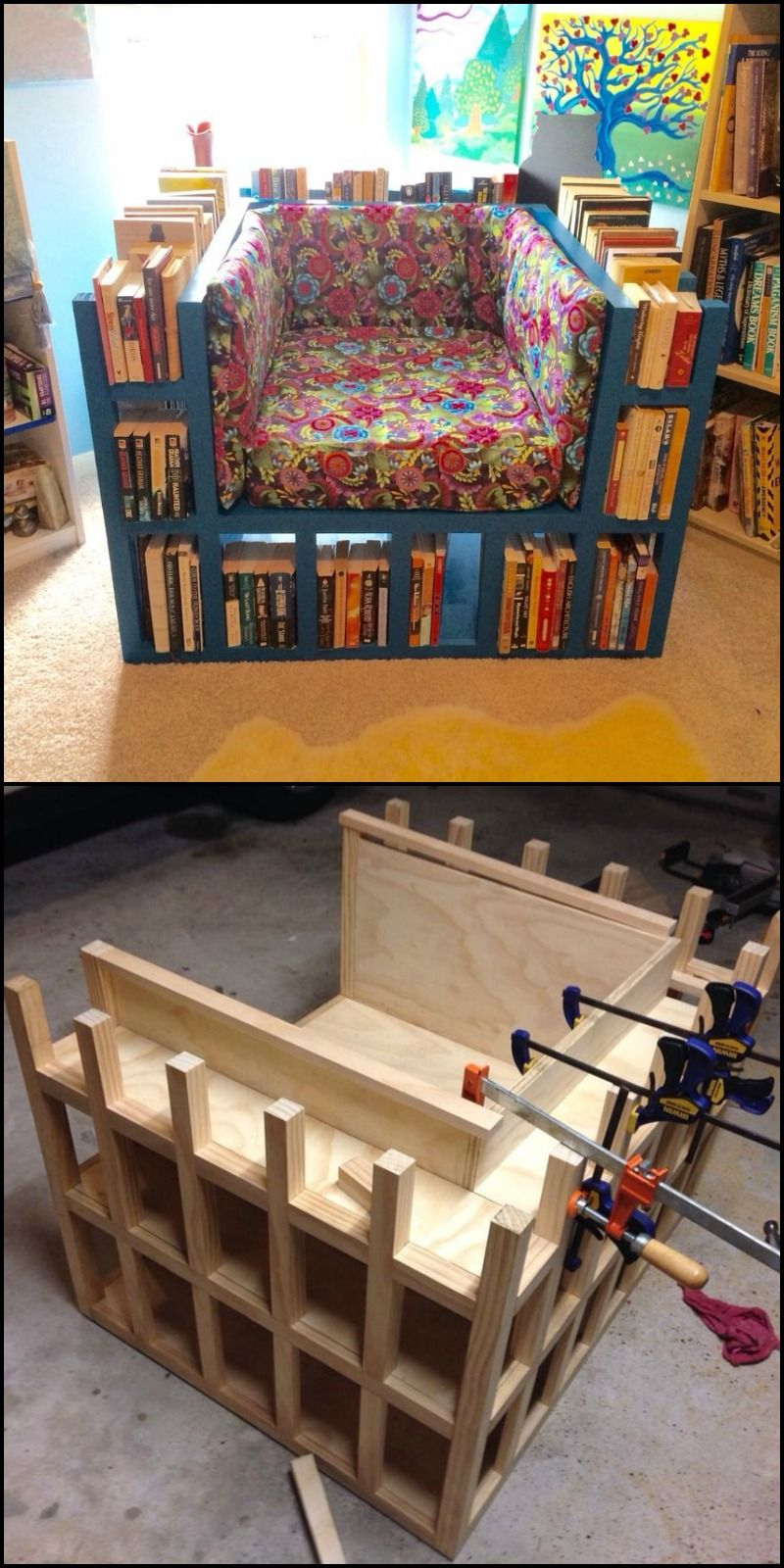 Learn how to build a biblio chair! http