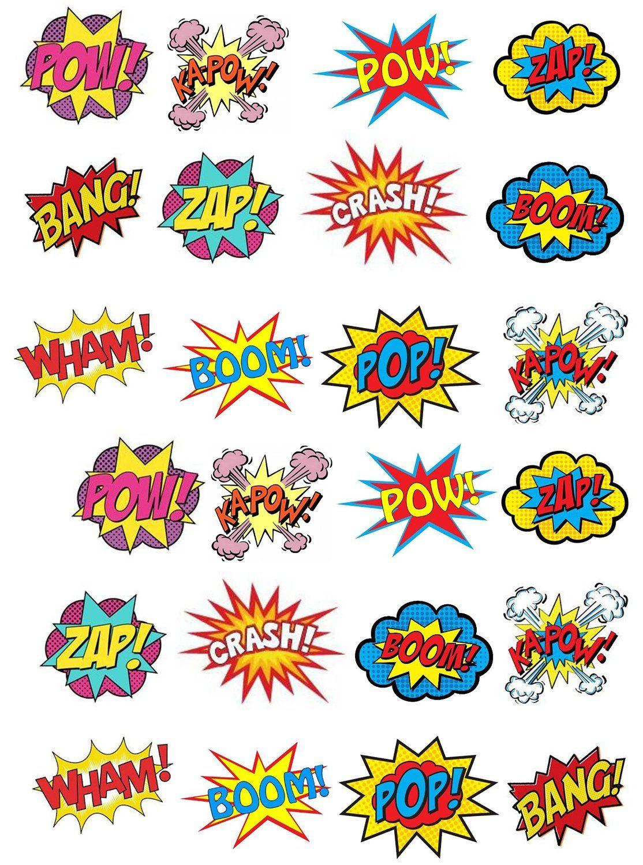 Mas De 25 Ideas Increibles Sobre Comics Onomatopeyas En Pinterest
