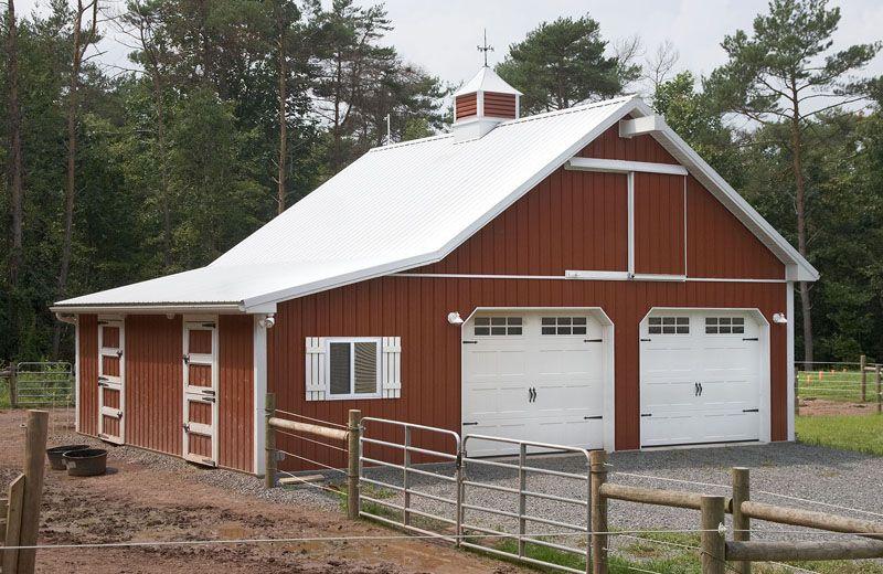 Custom Garage / Horse Barn Combination Mom Pods