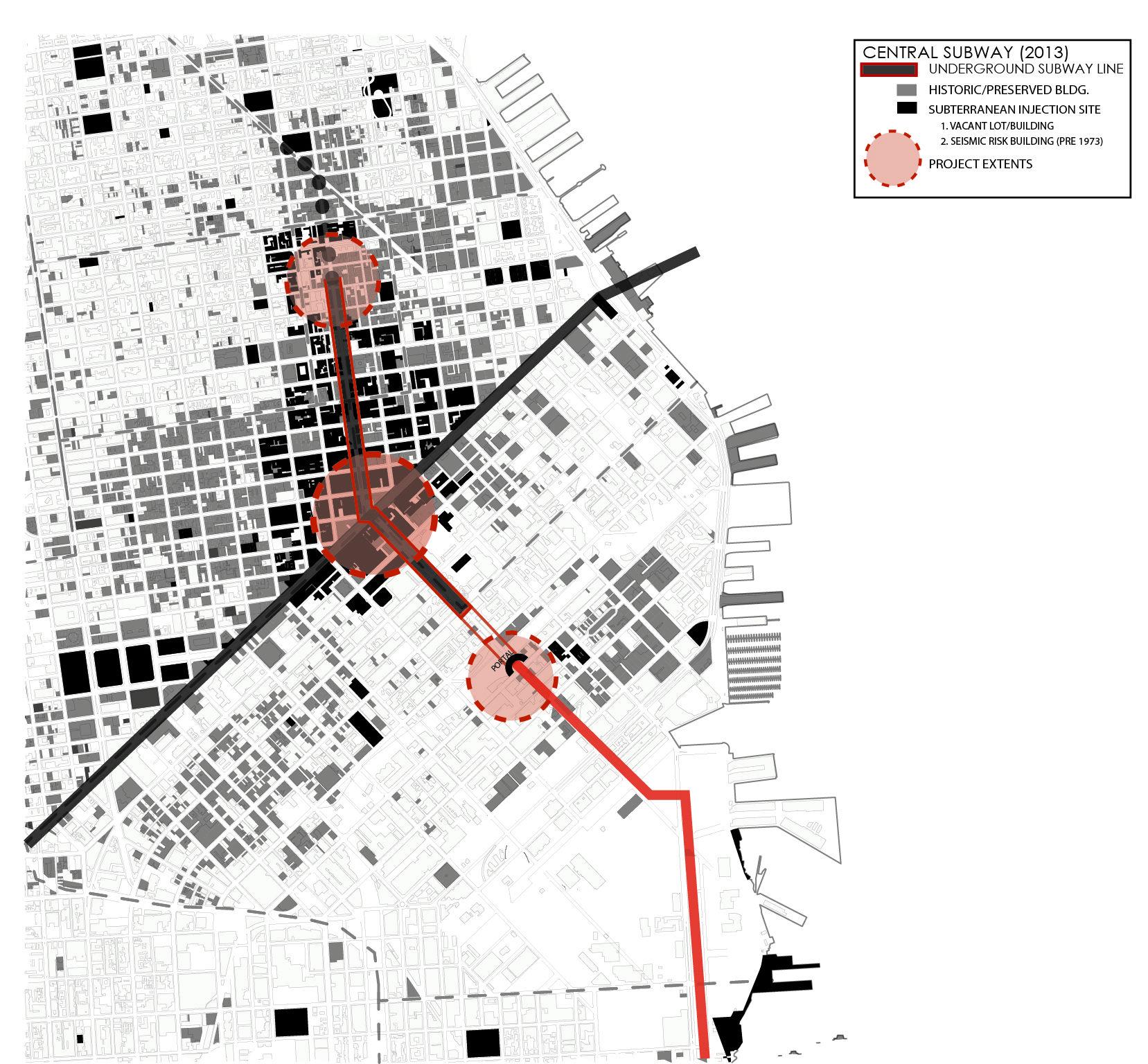 Architectural Density Diagram