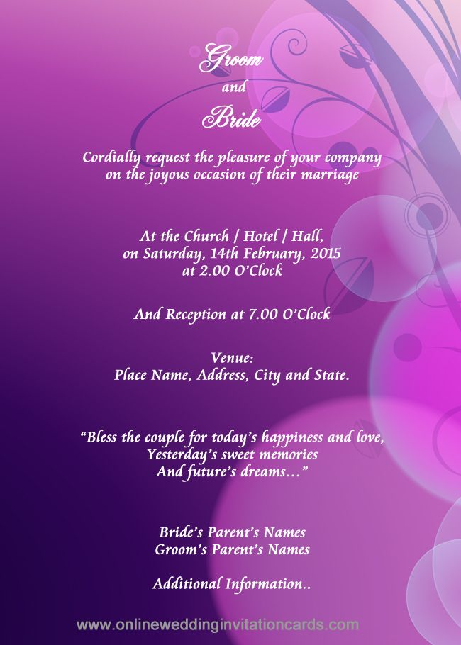 Editable marriage invitation card format in english inviview indian style invitation design sample 8 wedding stopboris Image collections