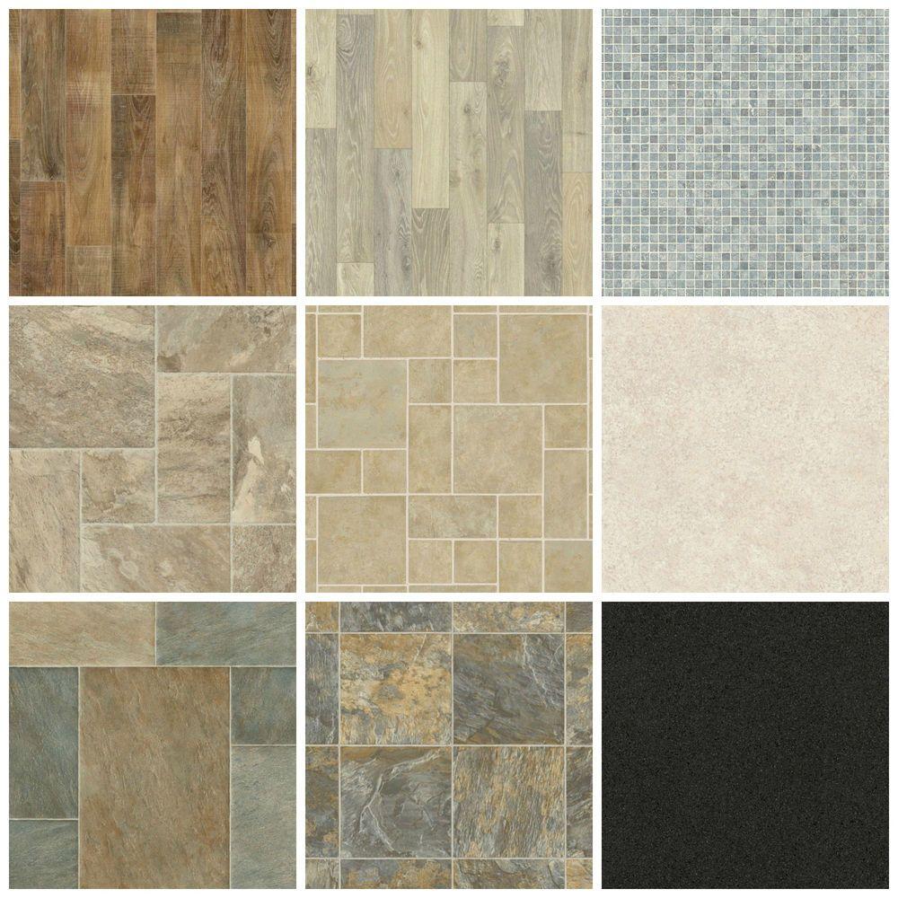 Details about Vinyl Floor New Quality Non Slip Flooring