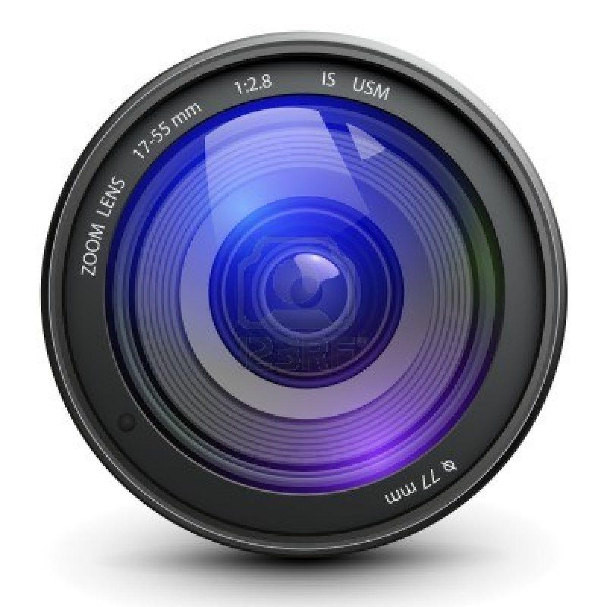 Camera photo lens, vector. Stock Photo 11881342