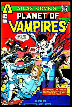 Resultado de imagen de planet of the vampires comic